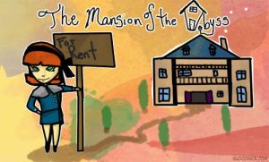 The Mansion of the Abyss Title page by Kuocomics