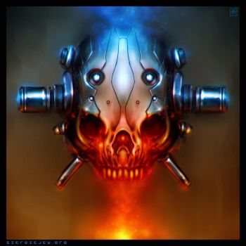 Cyber Skull by noistromo