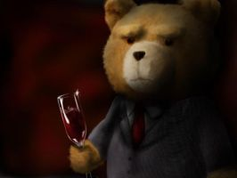 TED portrait by The-Avenged-Evil