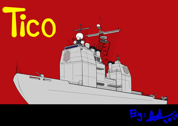 Ticonderoga-Class Guided-Missile Cruiser by HummerH3