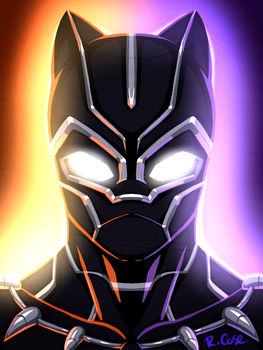 Black Panther by rongs1234