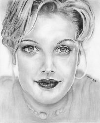 Drew Barrymore by marmicminipark