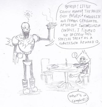 Papyrus vs Peridot- Laughing Contest Aftermath by LukeAndZiky