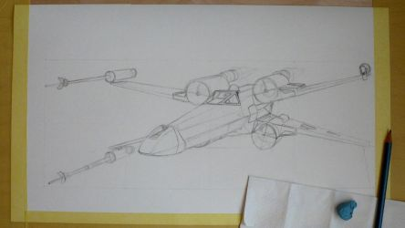 X-wing wip 1 by imclod