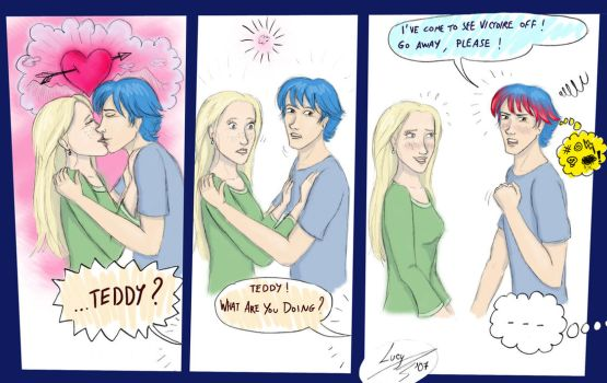 Teddy and Victoire by Lucy--C