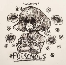 Poisonous [Inktober Day 1] by Shimmer-Shy