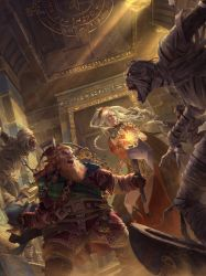 Pathfinder Playtest Adventure Doomsday Dawn cover  by LieSetiawan