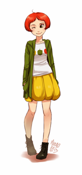 bell pepper fullbody by meago