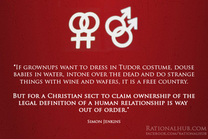 On Church vs Gay Rights.. by rationalhub