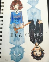 Heathers [Veronica Sawyer n' Jason Dean] by snakercow