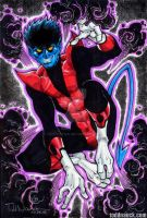 Nightcrawler. Fuzzy Blue Elf. by ToddNauck
