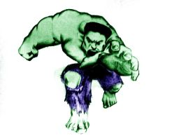 the hulk by avikdey