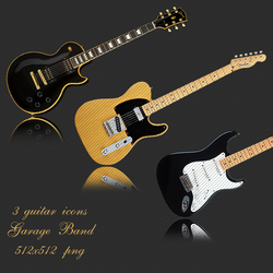 Guitar Icon Pack by l4mb3r7