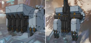 Warframe: Exterior Building Drawovers by SBigham