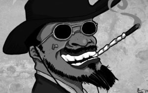 Django - Caricature by TucanoImperatore