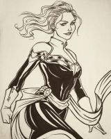 Captain Marvel by 7Lisa