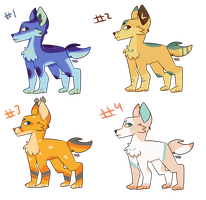 Adopts #8- 20 points (open 1/4) by Snow-but-its-blue