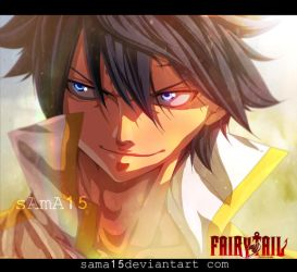 manga fairy tail 472 . gray by sAmA15