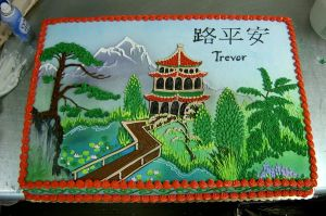 Japanese Pagoda Cake by The-EvIl-Plankton
