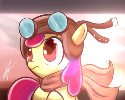 Applebloom Pilot by Mister-Markers