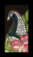 Lady Amherst's Pheasant and Shorea by Ravenari