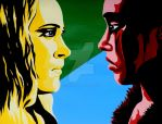 Clexa Painting by galianogangster