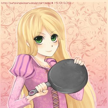 Tell that to my pan! by sunshineikimaru