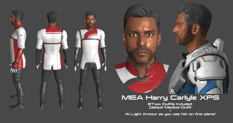 MEA Dr Harry Carlyle XPS by Padme4000