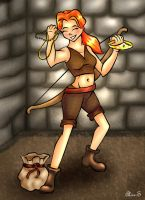 Haley - order of the stick by aliceazzo