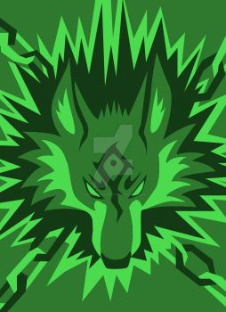 Wolf Link Design by CaptainMorwen