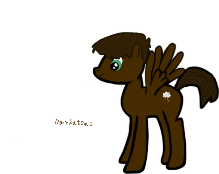 Improved version of OC. By Werewolf by markoatonc