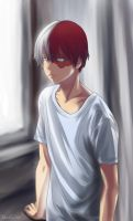 Todoroki Shouto by Ghostly1day