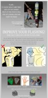 How to improve your camera flash! by NE-R0