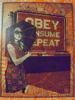 Obey, Consume, Repeat by xandreea