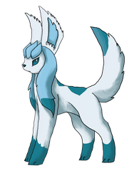 Shiny Glaceon by EnderwingsThePony