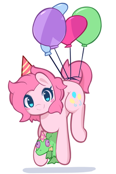 Party Duo by PinkCappachino