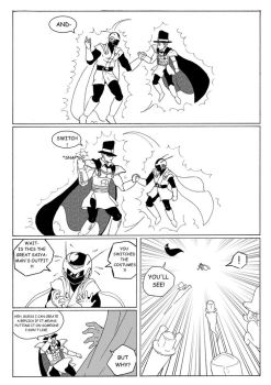 Who wants to be a superhero? 108 by Michsi