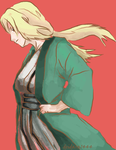 Tsunade - red by deidara1444
