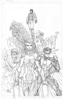 New 52 Teen Titans by vmarion07