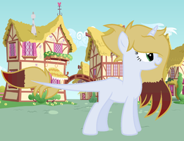 Me and Aidan fused?!! by theponygaming