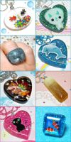 New Resin Jewelry 2 by bapity88