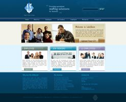 Web 2.0 Jobconsulting Template by princepal