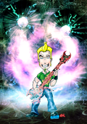 Guitar's Dragon ROAR! by 2012ReapeR