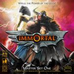 Immortal - game cover image by TheArtOfSanhueza