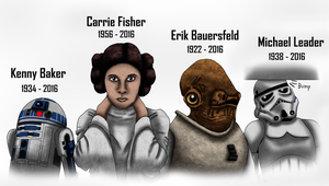 Star Wars Actors Tribute by Playstation-Jedi