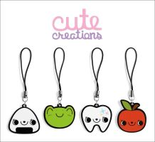 SET 01: Phone Straps by XintuStore