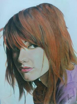 pencil colours on paper by ferdynamicart