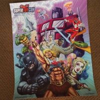 My SuperToyCon 2016 poster proofs are in! by DeJarnette