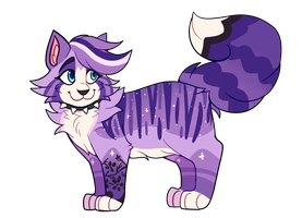 Purple Sunset // AUCTION // CLOSED by catpaths