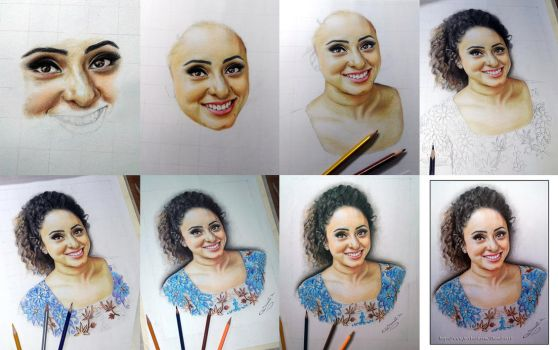 Pearle Maaney work all stage photos by  Shamilart by ShamilArt